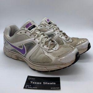 Women's Nike Dart 9 White Purple